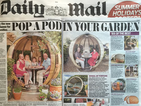 Pop a pod in your garden
