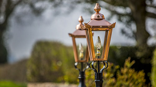 Ornate Garden Lighting